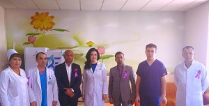 VISIT TO NATIONAL CANCER INSTITUTE TASHKENT